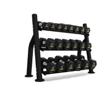 ST2 10 Pair 3-Tier Dumbbell Rack (without saddle)