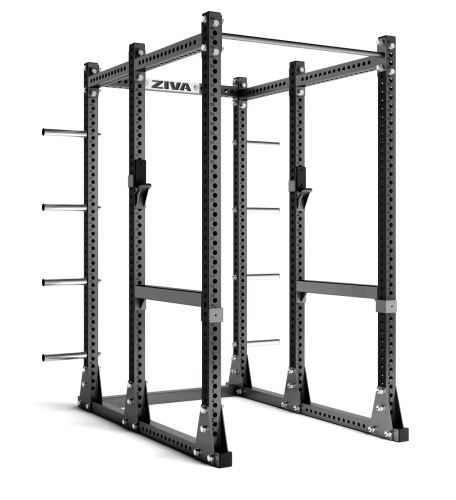 Power Rack with Storage - Charcoal/ Charcoal