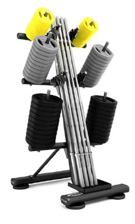 ST 10 Set Studio Barbell Rack-black