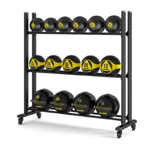 3 Tier Ball Storage Rack Set