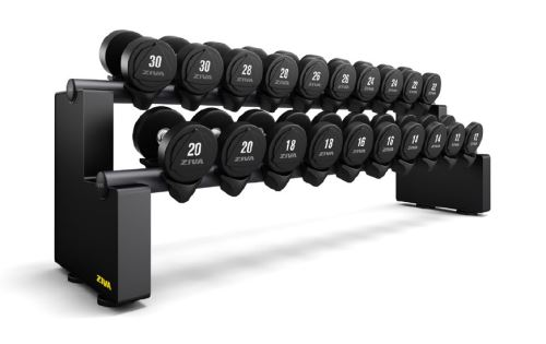 EX 10 Pair Horizontal Dumbbell Rack