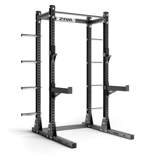 Half Rack with Storage - Charcoal/ Charcoal