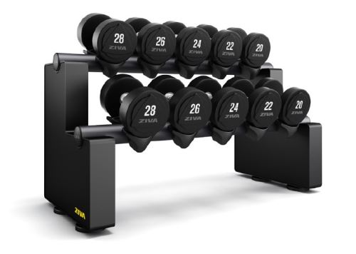 EX 5 Pair Horizontal Dumbbell Rack