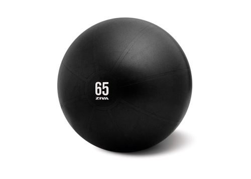 Anti-Burst Core-Fit Ball 65cm-black with yellow