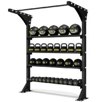 XP Wall Storage with Pull up bar - single 72 Wide Station