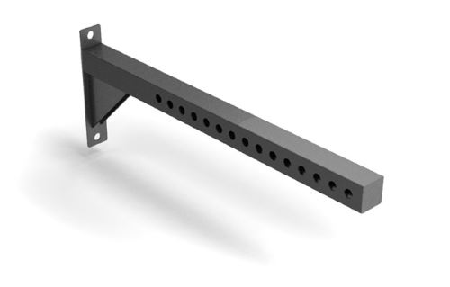 Flat Arm Cantilever Accessory Extension Attachment
