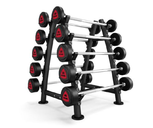ST2 10 Piece Barbell Rack - black