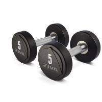 ZVO Solid Steel Urethane Studio Dumbbell 1 - 10 kg Set